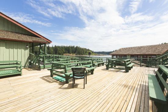 April Point Resort: April Point deck