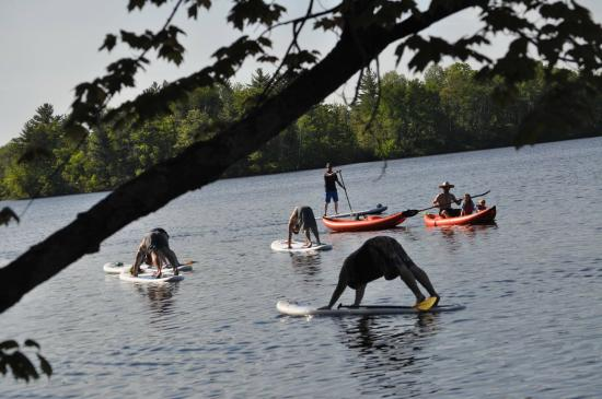 Northwoods Adventures: SUP Yoga Instruction