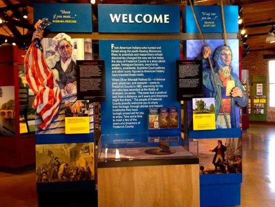 Frederick Visitor Center : Learn about famous Fredericktonians Barbara Fritchie and Francis Scott Key.
