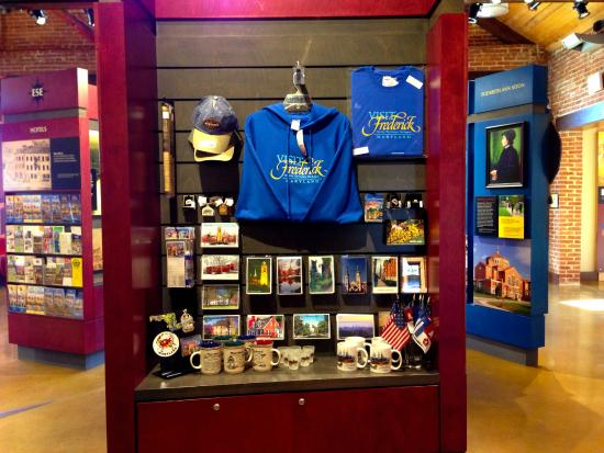 Frederick Visitor Center : You'll find sounvenirs of your visit to Frederick, Maryland, here!