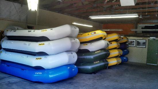 Northwoods Adventures: Our Rafts - We're Growing!