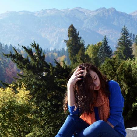 Sinaia, Rumania: the view :3