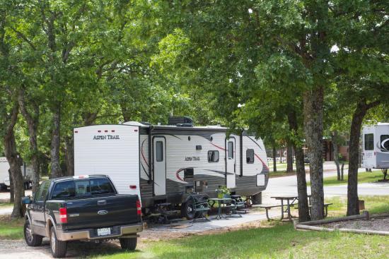Oklahoma City East KOA : Long Sites