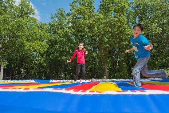 Oklahoma City East KOA : Jump Pad