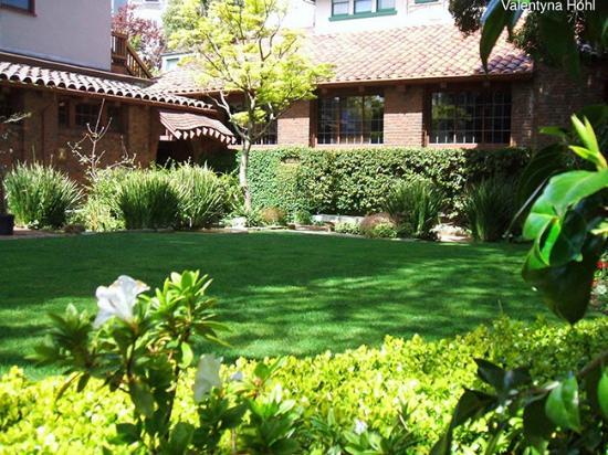 Garden courtyard - Picture of Swedenborgian Church, San Francisco ...