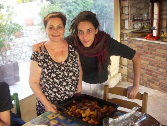 Douliana, Hellas: Vasso und Natalia