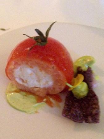 Le Mystique - Relais & Chateaux: This is not a tomato!