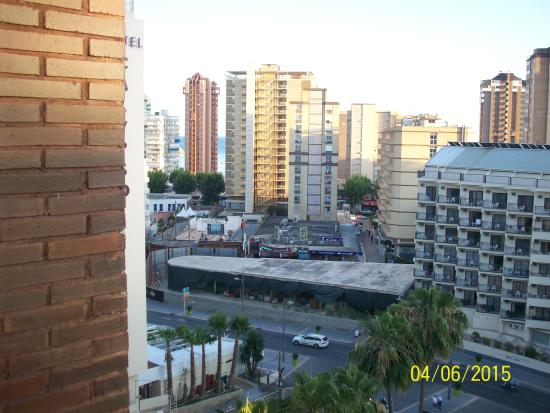 Outlook - Picture of Hotel Rosamar, Benidorm - TripAdvisor