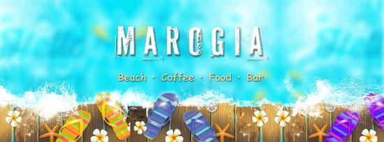 Marogia Beach Coffee Food Bar: Logo