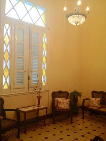 The front room at Casa Hilda y Alejandro