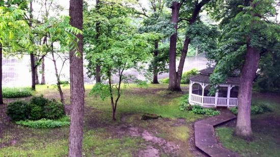 Gray Goose Inn: view from our room