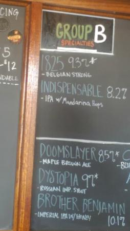 Greenbush Brewing Co.: Price List B