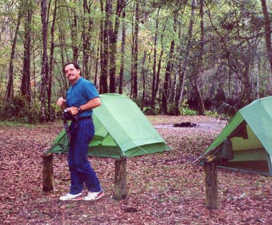 Ocala National Forest: walking around in camp