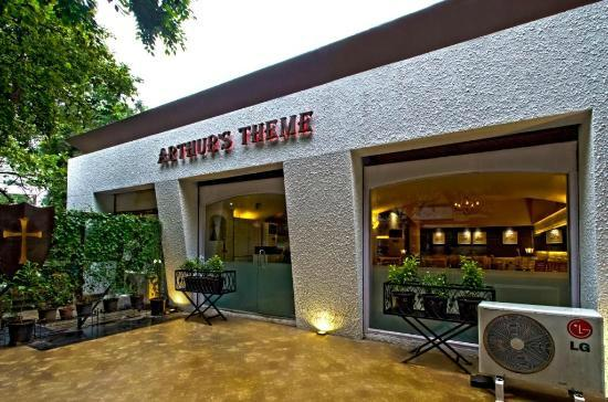 Arthurs Theme Juhu: entrance