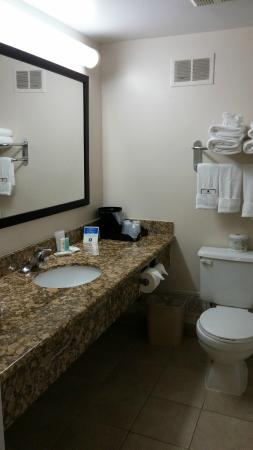 Comfort Hotel Airport North: Bathroom