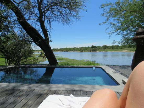 Sabi Sand Game Reserve, Νότια Αφρική: our private deck