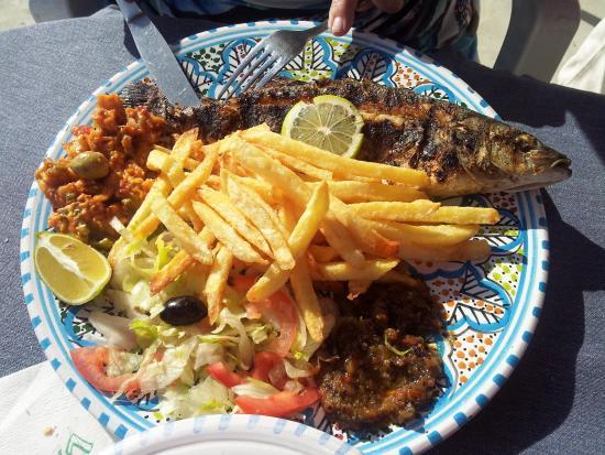 Restaurant Sidi Ali Adel : Plat de crevettes