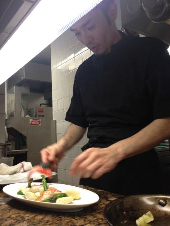 Castle Hotel & Spa : Chef del restaurante Equus