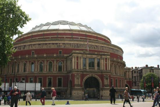 Stalls section h row 8 seat 20 picture of royal for Door 8 royal albert hall