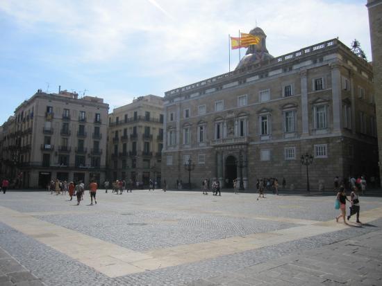 Plaza De San Jaime Barcelona Obrazok Placa De Sant Jaume