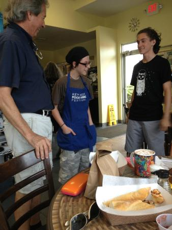 Cole's Peace Artisan Bakery and Sandwich Shop: impromptu birthday celebration
