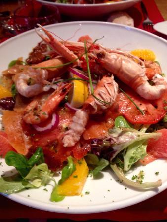 Restaurant Jean D'la Queue : Salade Océane