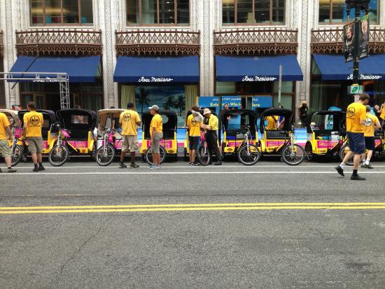 DC Pedicab: Great Event that we did to advertise tourism for Fort Lauderdale!