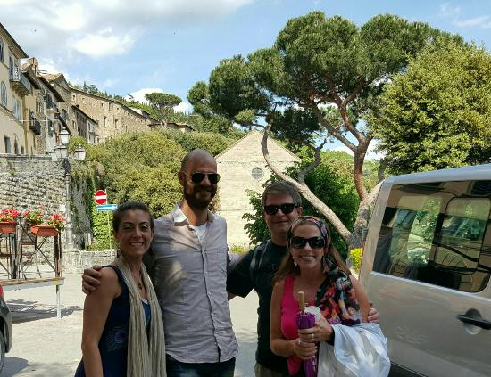 Cortona Wine Tours: Back in cortona after our tour
