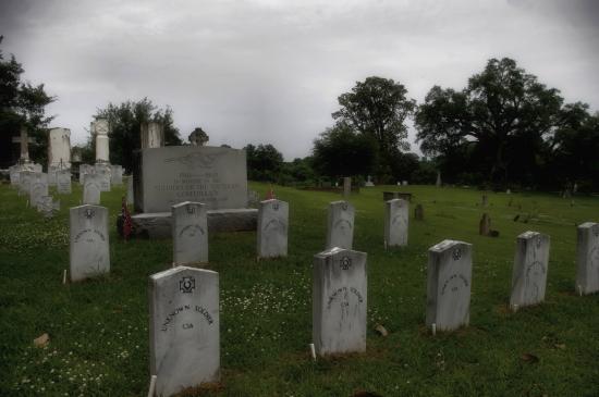 Confederate plot Natchez City Cemetery