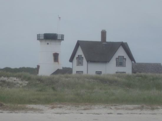 Monomoy Island Excursions : Lighthouse with light removed