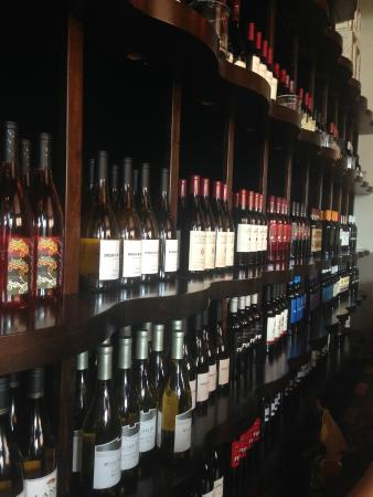 """South Fork Grille: Beautiful """"wall of wine"""""""