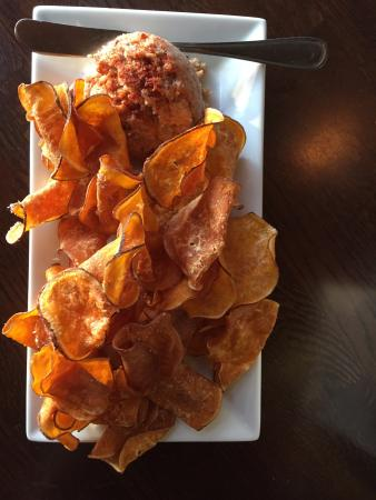 ... Southern Gastropub: Boiled peanut hummus with sweet potato chips