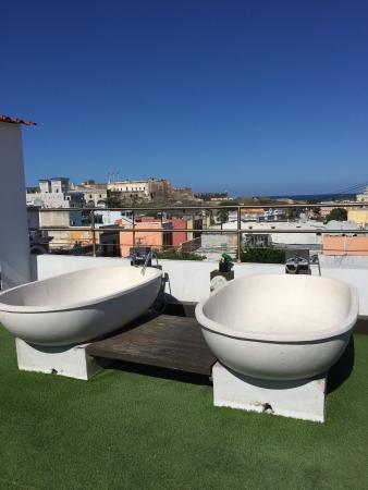 rooftop tubs! - picture of casablanca hotel, san juan - tripadvisor