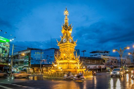 Clock Tower Chiang Rai