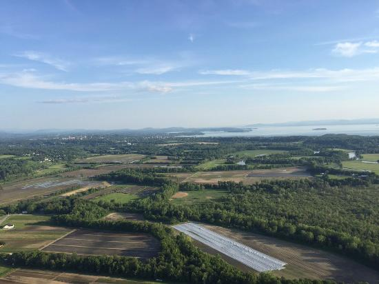 Above Reality Inc. Hot Air Balloon Rides: What a view