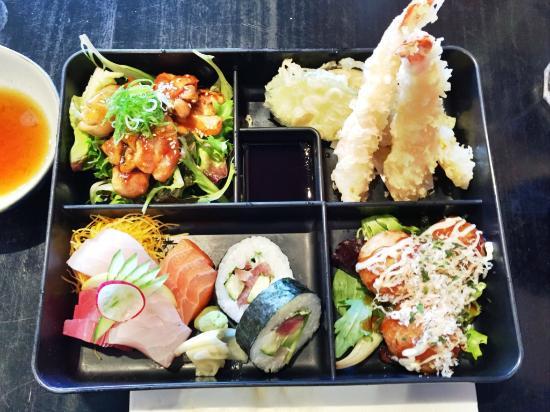 bento lunch picture of izakaya jiro grill sake bar hawthorn tripad. Black Bedroom Furniture Sets. Home Design Ideas