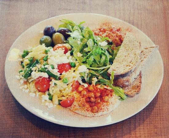 The Kitchen at Plants of the Southwest: Mezze Plate