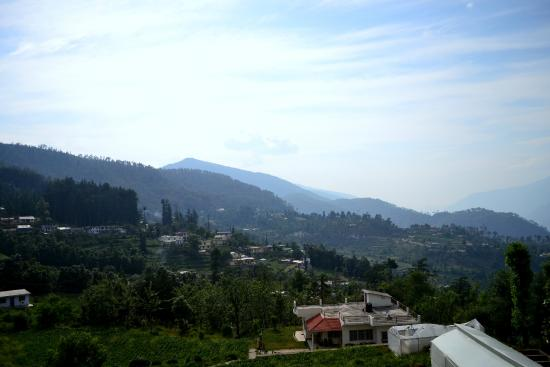 Gwaldam, India: View from balcony