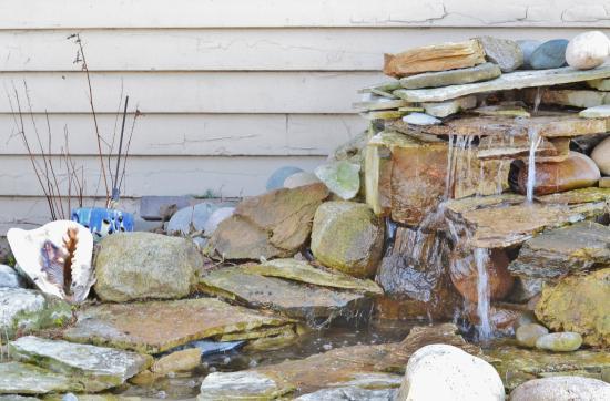 Oviatt House Bed and Breakfast: Waterfall