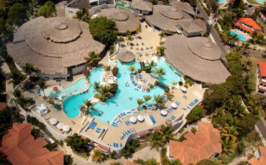 Cofresi Palm Beach Spa Resort Aerial View