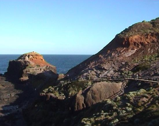 Cape Schanck, Australia: Walkway leading to Pulpit Rock