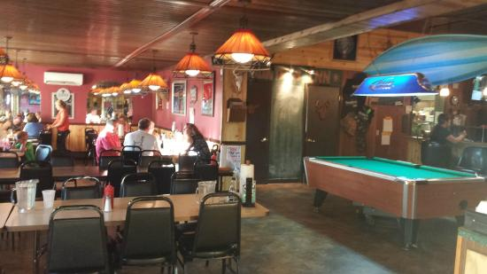 Meadville, PA: billiards and one of the seating areas