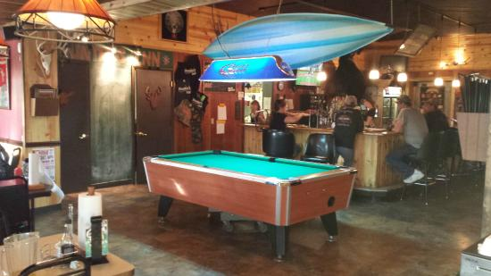 Meadville, PA: The bar and billiards