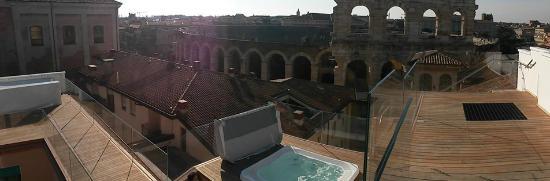 Aperitivo Con Vista Picture Of Hotel Milano Spa Verona