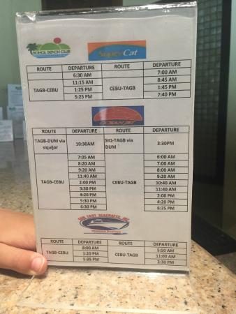 Bohol Beach Club Prices Transportation
