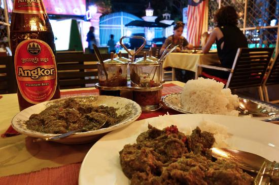 ABABA Curry House : Rogan josh with fragrant spices