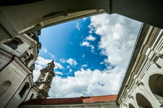 Kaunas, Litouwen: Pažaislis Monastery