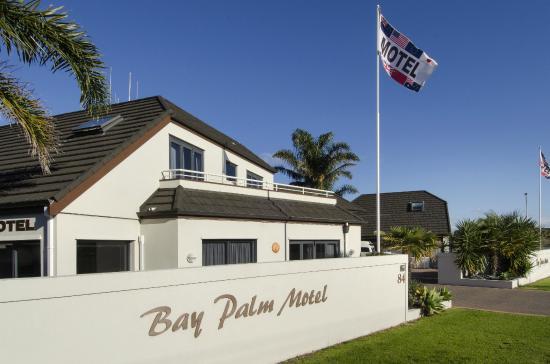 Bay Palm Motel : Motel Frontage