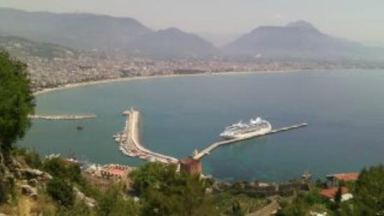 Alanya Kalesi (Castle) : vue imprenable