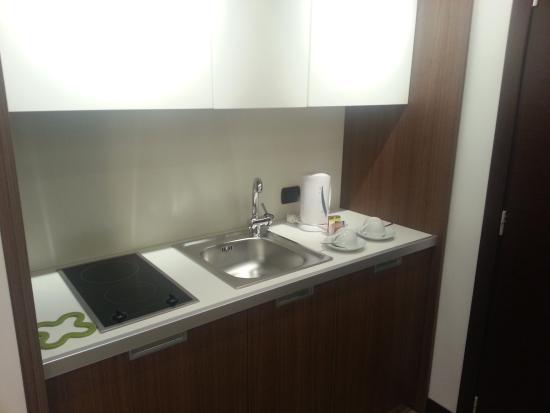 Residence Hotel Parioli: Zona cucina